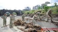 TBILISI, Georgia — Georgian capital Sunday, after flooding